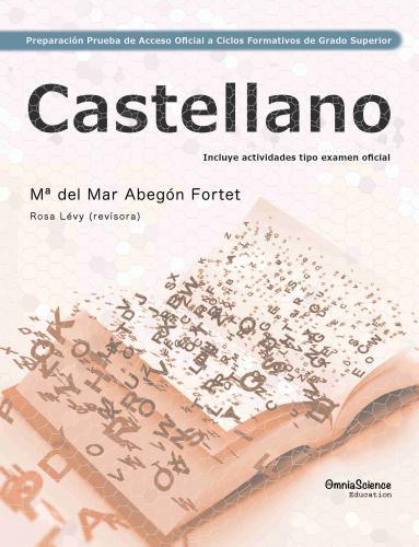 Cover for Preparación de la  Prueba de Acceso Oficial  a  Ciclos Formativos  de  Grado Superior: Castellano