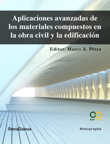 Cover for Aplicaciones avanzadas de los materiales compuestos en la obra civil y la edificación