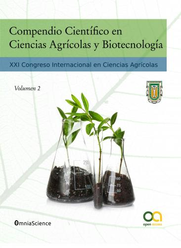 Cover for Compendio Científico en Ciencias Agrícolas y Biotecnología (Vol 2): XXI Congreso Internacional en Ciencias Agrícolas