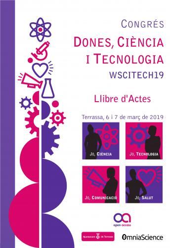 Cover for Congrés Dones, Ciència i Tecnologia WSCITECH19