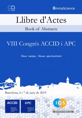 Cover for VIII Congrés ACCID i APC: Nous temps, Noves oportunitats