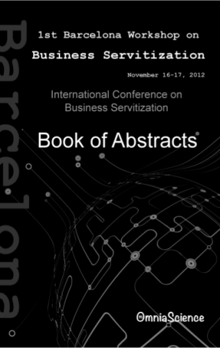 Cover for 1st International Conference on Business Servitization (ICBS 2012 - Barcelona)