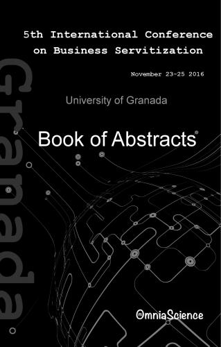 Cover for 5th International Conference on Business Servitization (ICBS 2016 - Granada)
