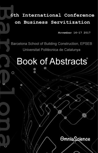 Cover for 6th International Conference on Business Servitization (ICBS 2017 - Barcelona)