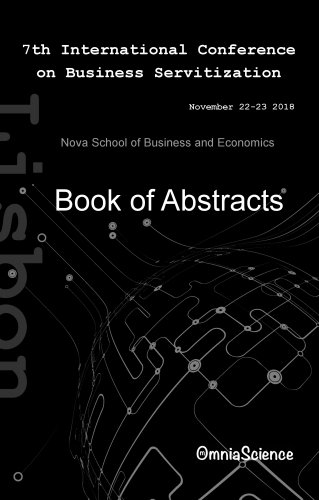 Cover for 7th International Conference on Business Servitization (ICBS 2018 - Lisbon)