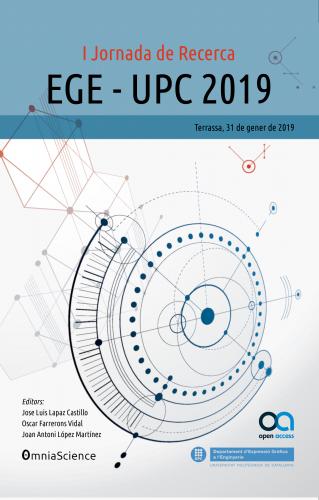 Cover for I Jornada de Recerca EGE-UPC 2019