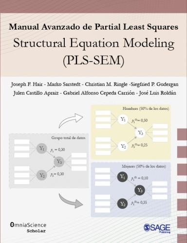 Cover for Manual avanzado de Partial Least Squares Structural Equation Modeling (PLS-SEM)