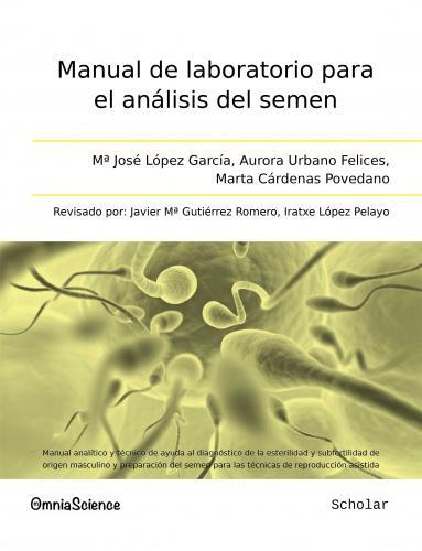 Cover for Manual de laboratorio para el análisis del semen