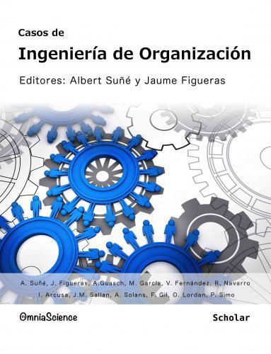 Cover for Casos de Ingeniería de Organización