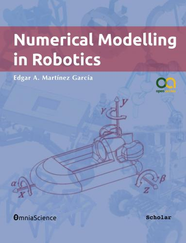 Cover for Numerical modelling in robotics