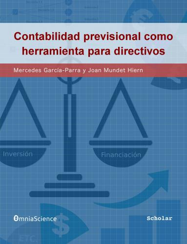 Cover for Contabilidad previsional como herramienta para directivos