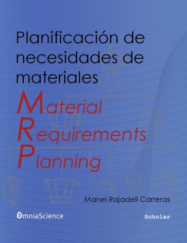 Cover for MRP: Planificación de necesidades de materiales