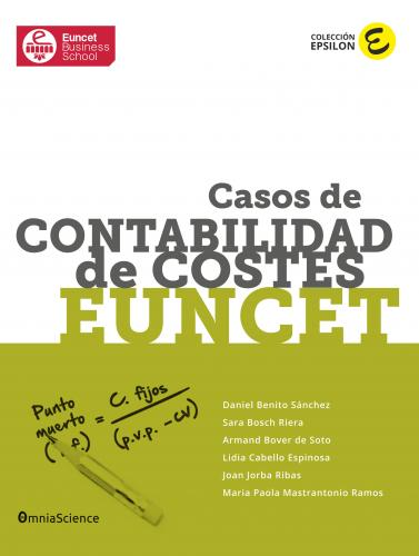 Cover for Casos de Contabilidad de Costes EUNCET