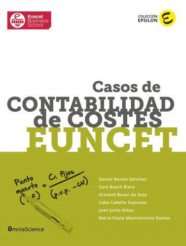 Cover for Casos de Contabilidad de Costes EUNCET